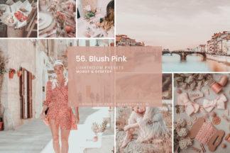 Minimalistic Lightroom Presets - 56.BLUSH PINK 01 -