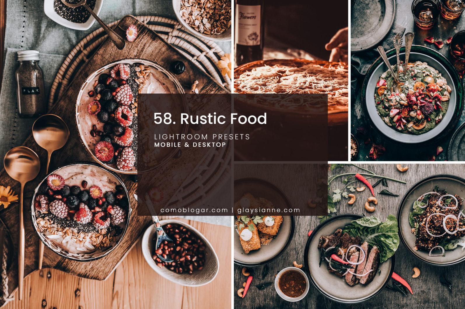 58. Rustic Food - 58.RUSTIC FOOD 01 -