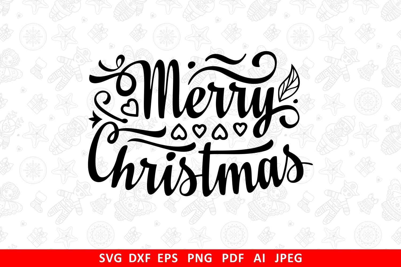 Christmas lettering svg - 1 24 -