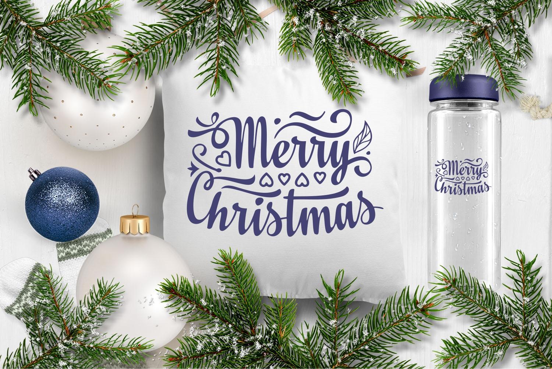 Christmas lettering svg - 2 27 -