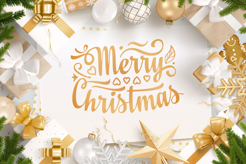 Christmas lettering svg - 3 26 -