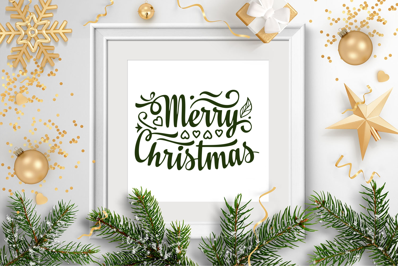 Christmas lettering svg - 5 23 -