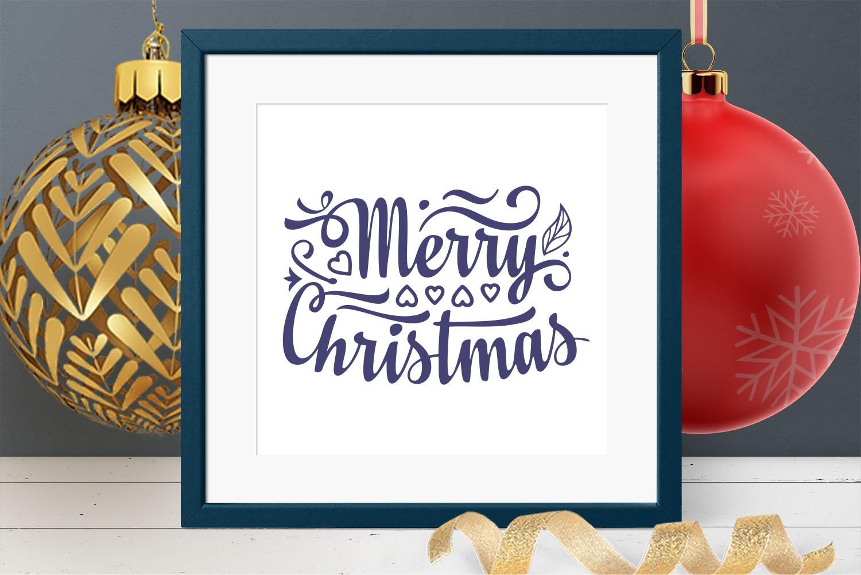 Christmas lettering svg - 6 22 -