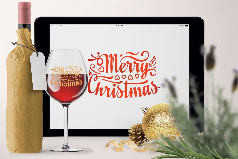 Christmas lettering svg - 7 20 -