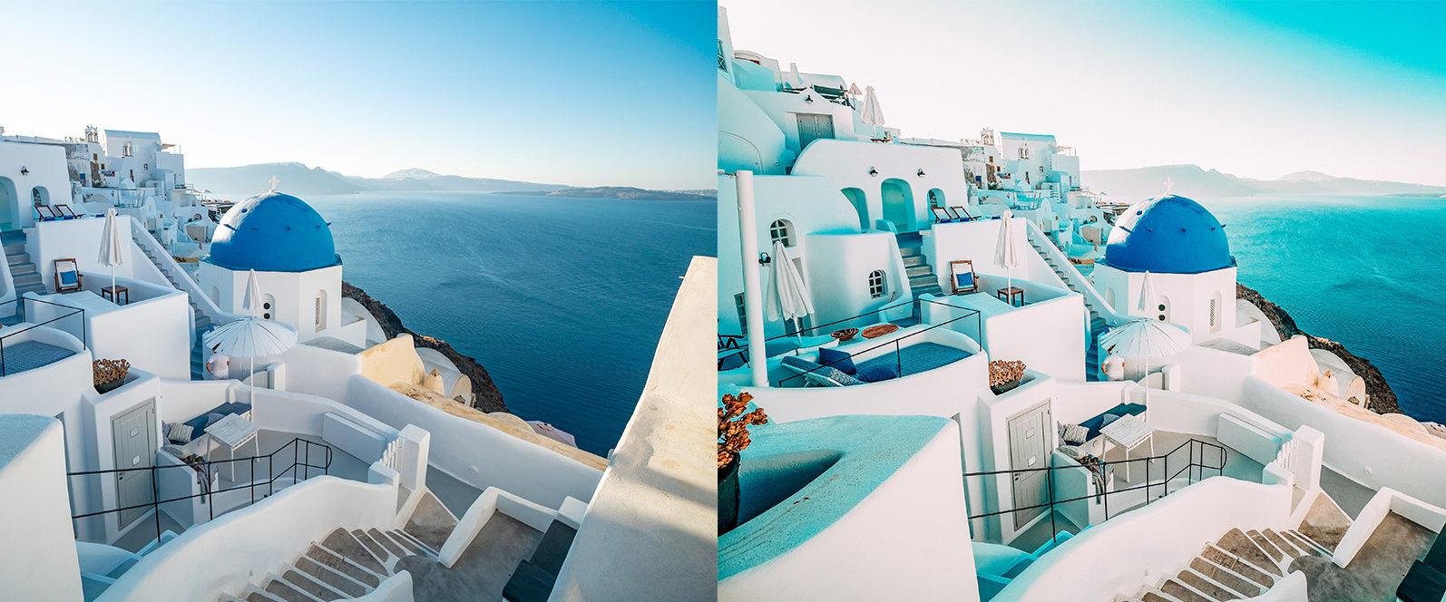14 x Greece Lightroom Presets   Mobile and Desktop - 8 Greece 1 -