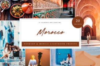 Golden Lightroom Presets - Morocco 2 LR -