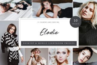 Black And White Lightroom Presets - Elodie LR -