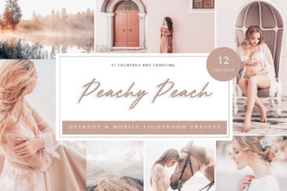 Green Lightroom Presets - Peach LR -