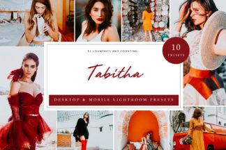 Red Lightroom Presets - Tabitha LR -