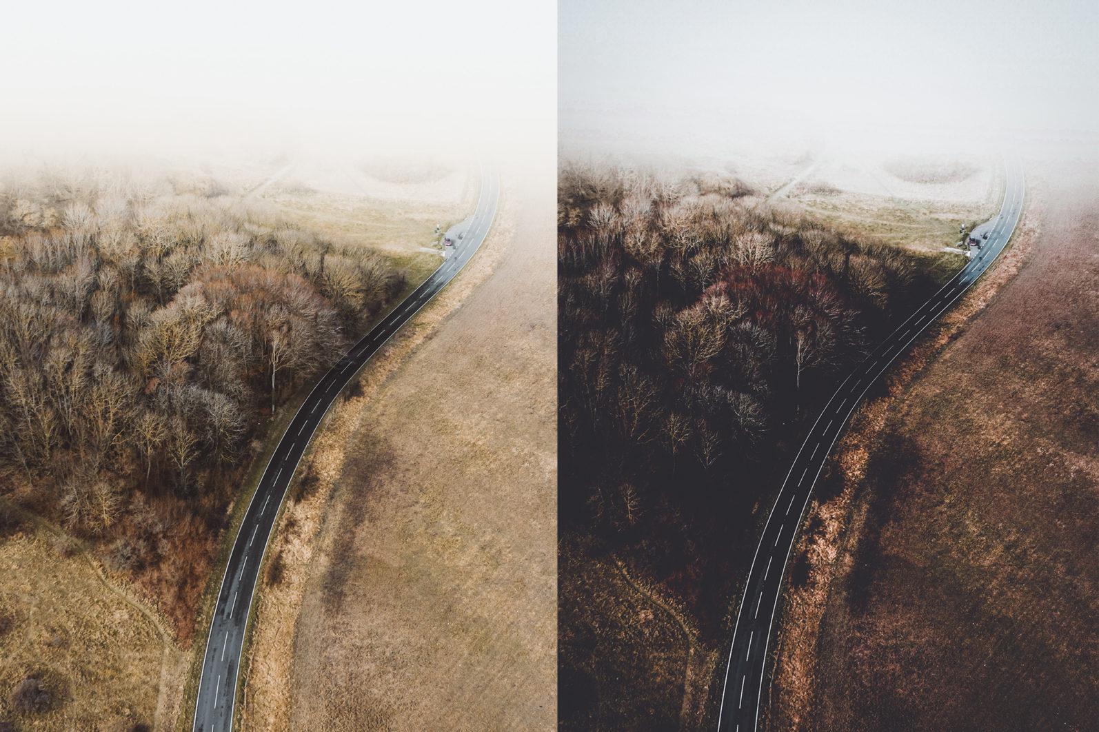 10 x Moody Landscape Lightroom Presets, Travel Presets | Mobile and Desktop - 2 Moody Landscapes 1 -