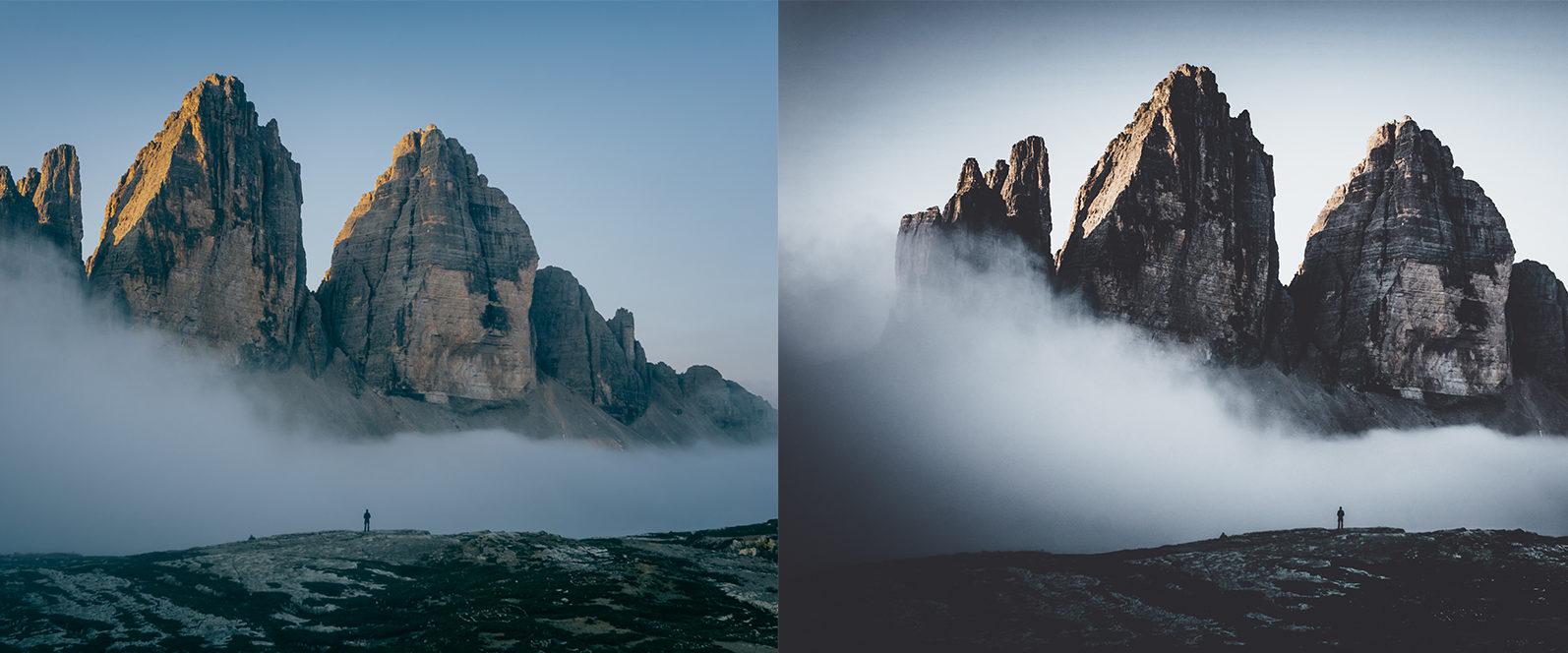 10 x Moody Landscape Lightroom Presets, Travel Presets | Mobile and Desktop - 6 Moody Landscapes 1 -