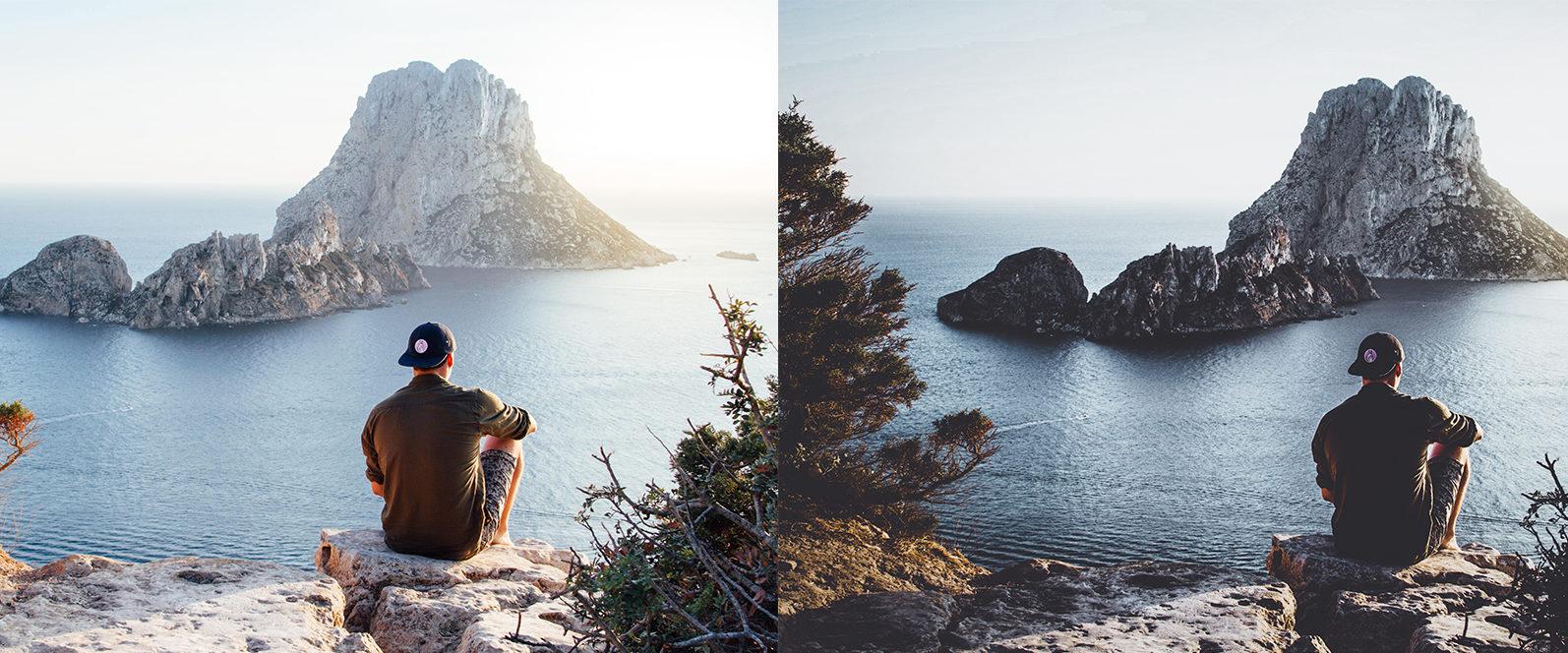 10 x Moody Landscape Lightroom Presets, Travel Presets | Mobile and Desktop - 7 Moody Landscapes 1 -