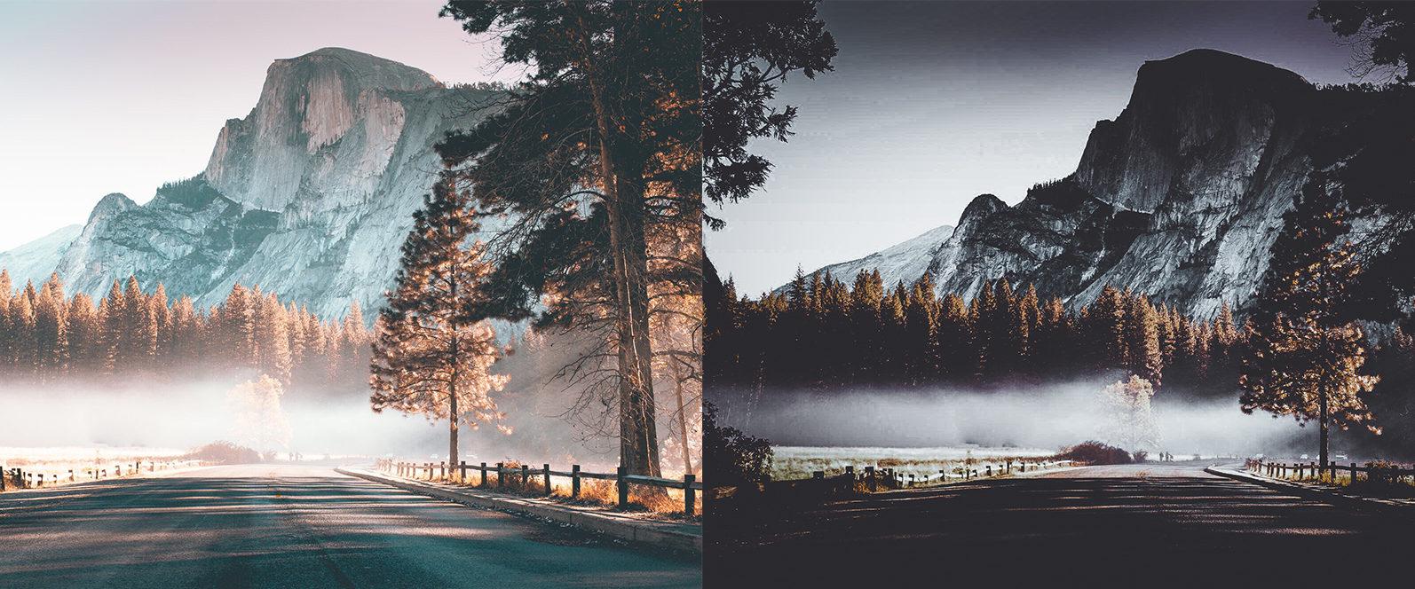 10 x Moody Landscape Lightroom Presets, Travel Presets | Mobile and Desktop - 10 Moody Landscapes 1 -