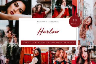Red Lightroom Presets - Harlow LR -