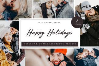 Lifestyle Lightroom Presets - Happy Holidays LR -
