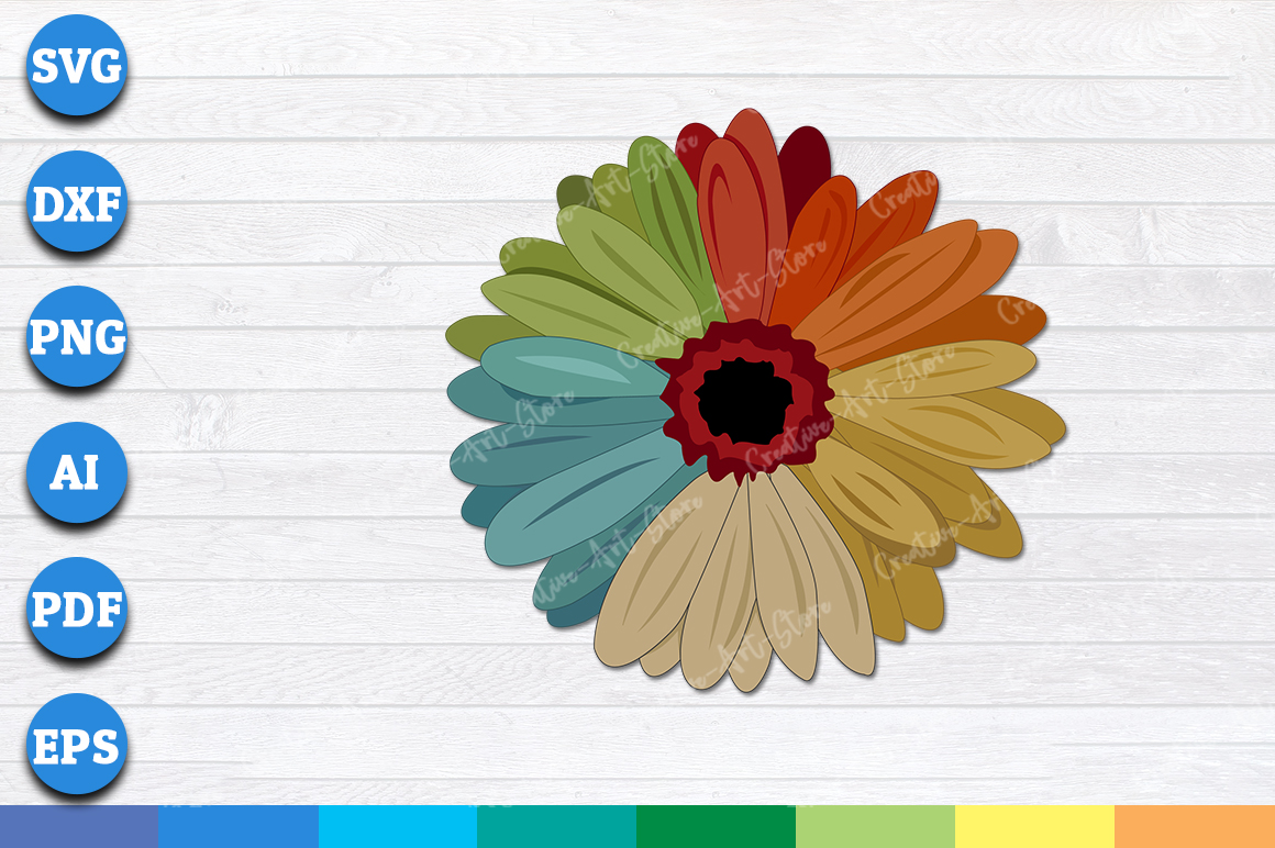 Download Sunflower SVG, PNG Print Ready Cutting Files For Instant ...