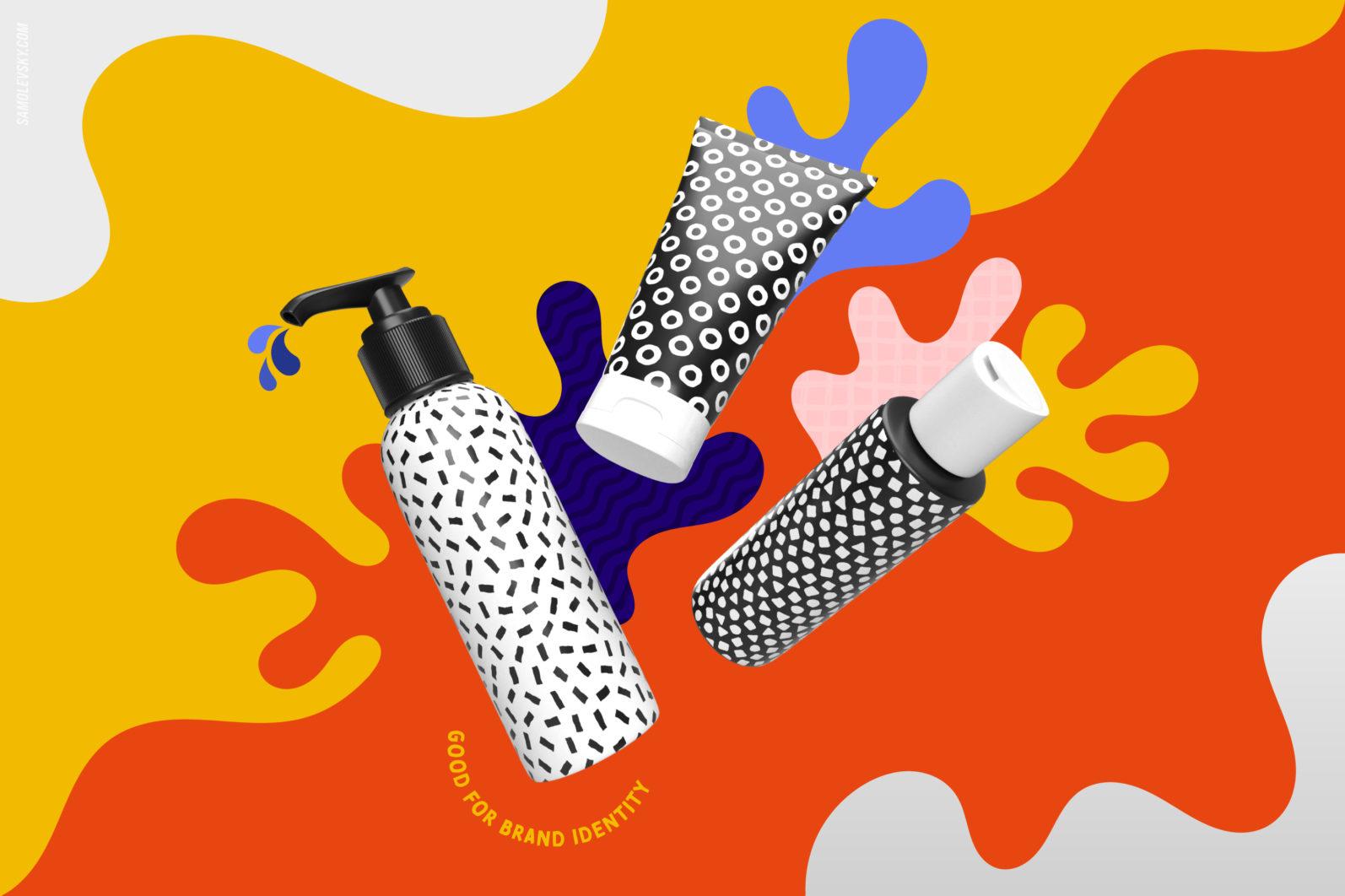 Handmade patterns bundle - 300 seamless patterns, brushes, and shapes - Samolevsky.com Handmade patterns bundle 17 scaled -