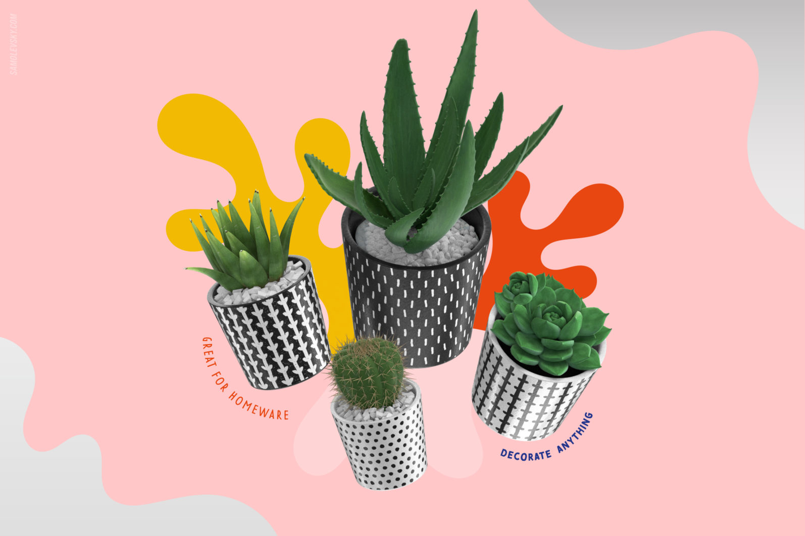 Handmade patterns bundle - 300 seamless patterns, brushes, and shapes - Samolevsky.com Handmade patterns bundle 23 scaled -