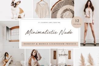 Lifestyle Lightroom Presets - Minimalistic Nude LR -