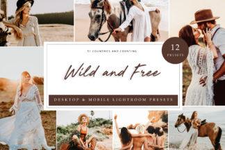 Outdoor Lightroom Presets - Wild and Free LR -
