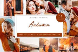 Fashion Lightroom Presets - Autumn LR -