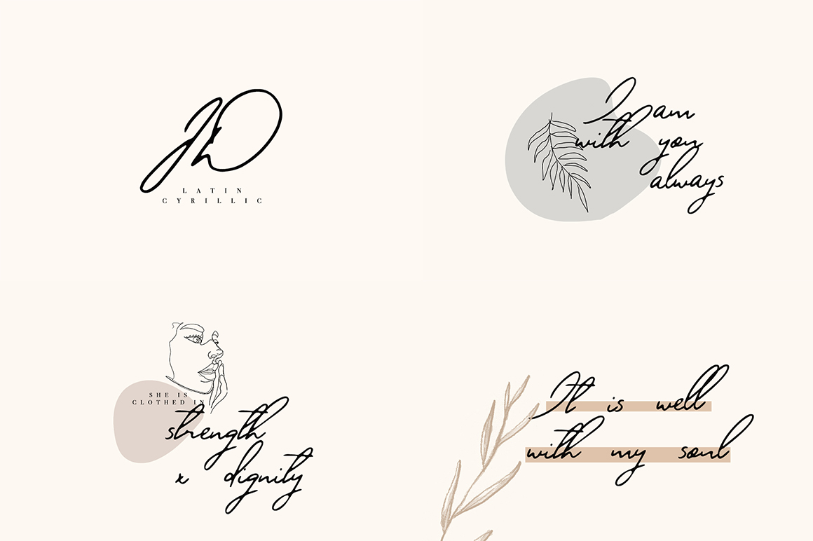 Font Bundle / 70 + IN ONE - 66 -