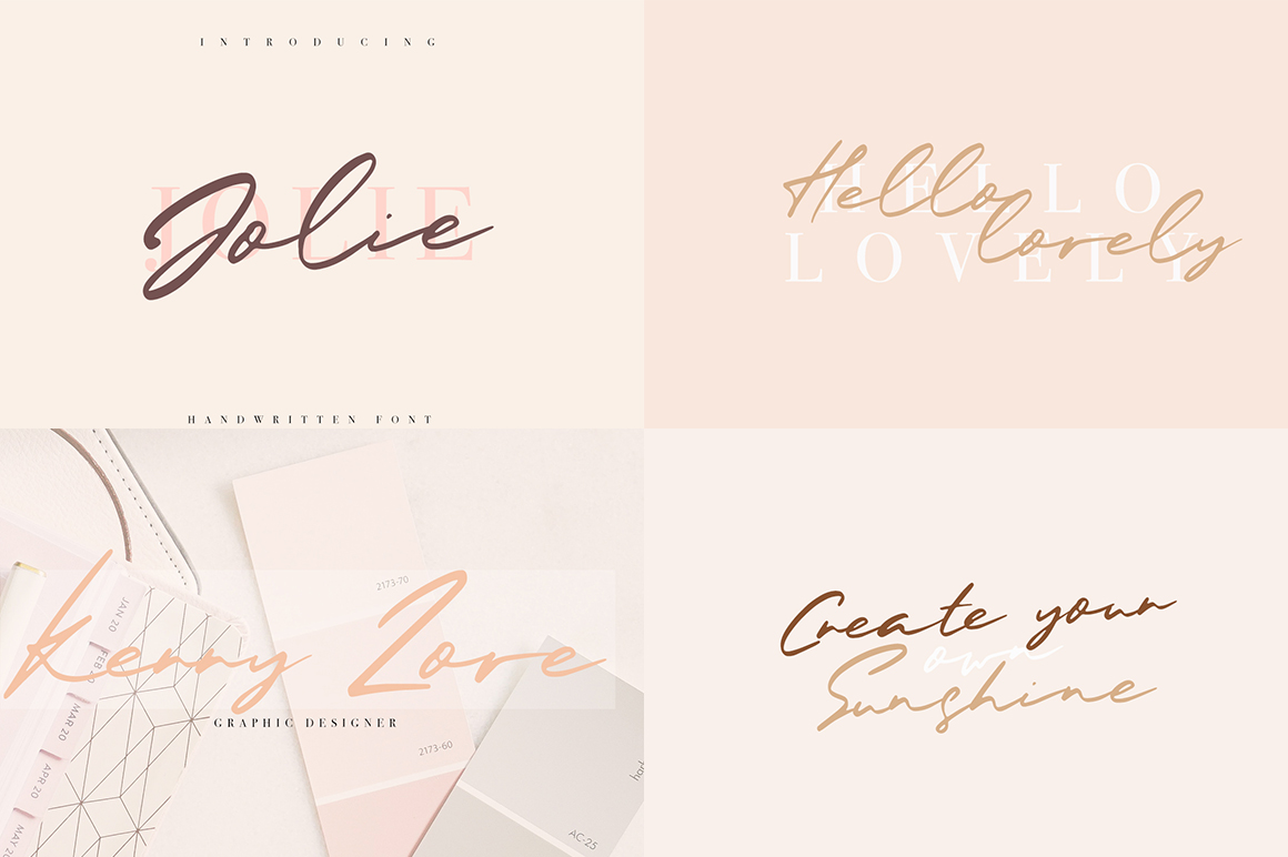 Font Bundle / 70 + IN ONE - 44 -