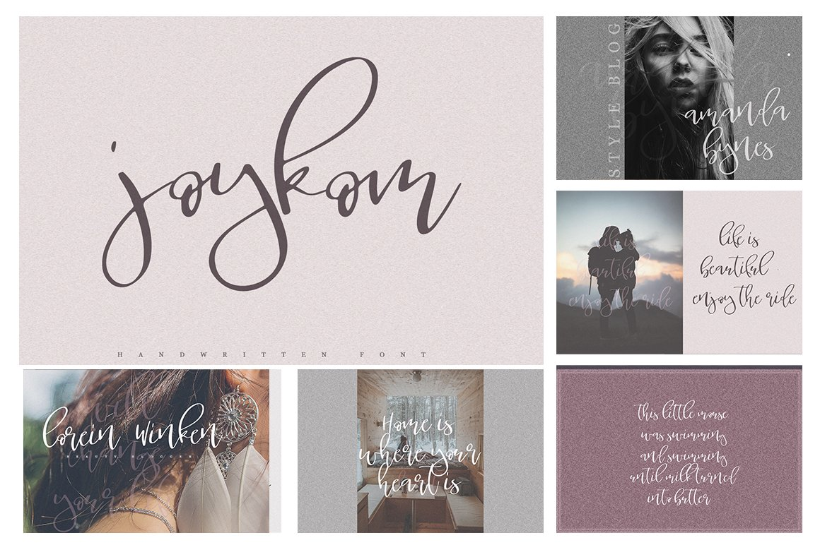 Font Bundle / 70 + IN ONE - 9 -