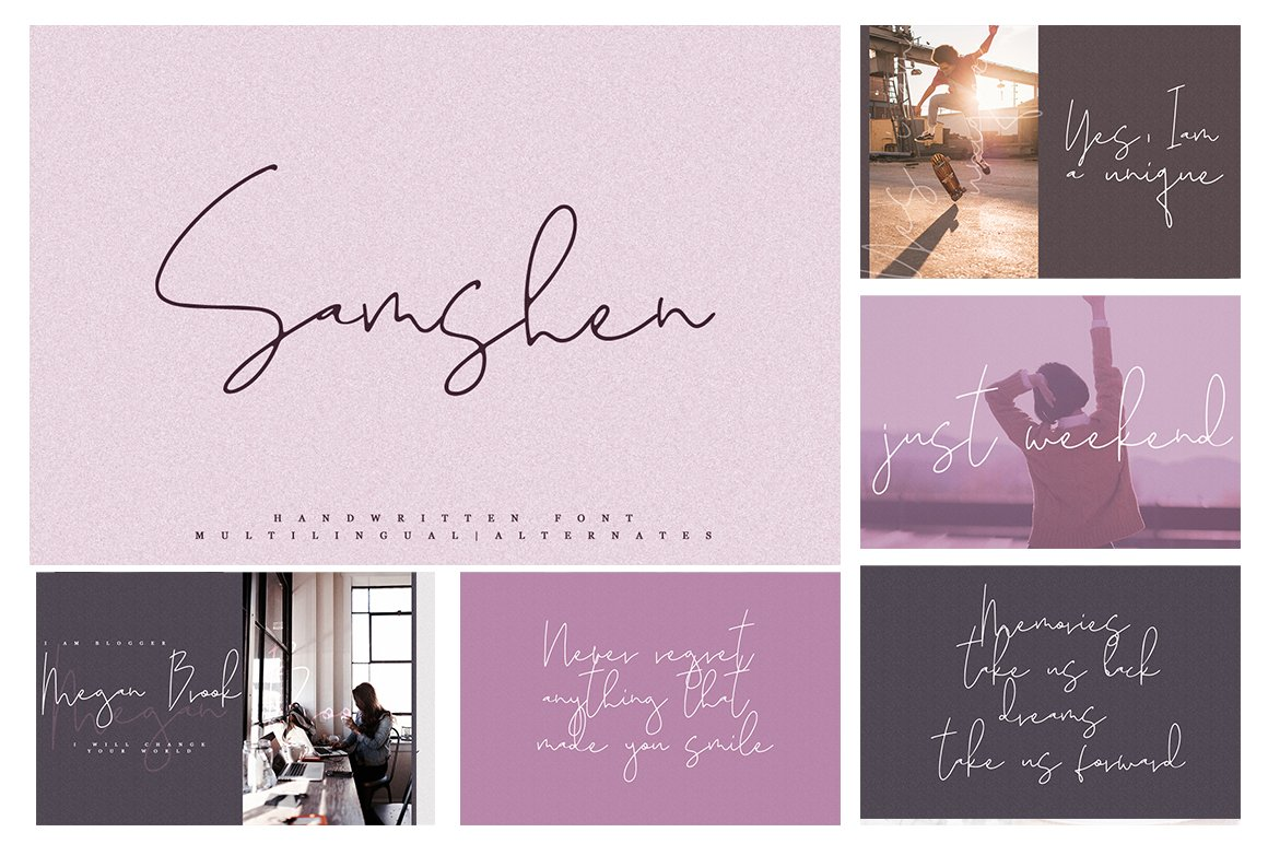 Font Bundle / 70 + IN ONE - 8 -