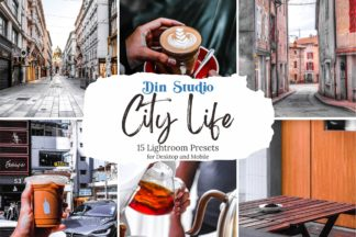Minimal Lightroom Presets - City Life Copy 1 -
