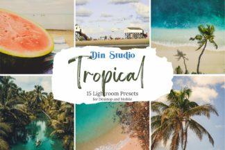 Tropical Lightroom Presets - Tropical Copy 1 -