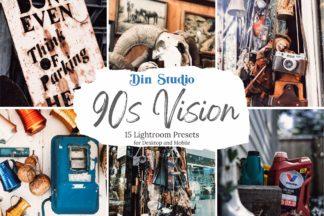 Red Lightroom Presets - 90s Vision Copy 1 -