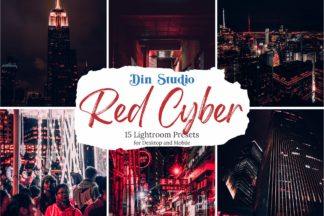 Red Lightroom Presets - Red Cyber Copy 1 -