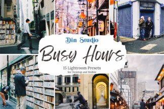 Urban Lightroom Presets - Busy Hours Copy -
