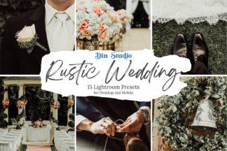 Spring Lightroom Presets - Rustic Wedding Copy -