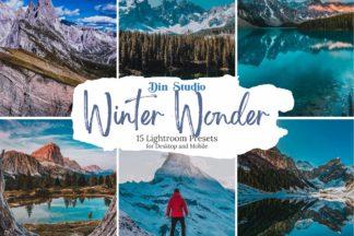 Winter Lightroom Presets - Winter WOnder Copy -