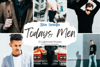 Christmas Lightroom Presets - Todays Men Copy -