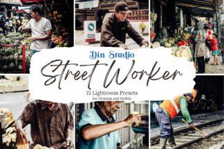 Professional Lightroom Presets - Street Worker Copy -