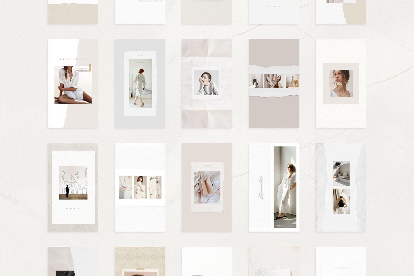 Señorita - Instagram Stories & Post - noir7 -