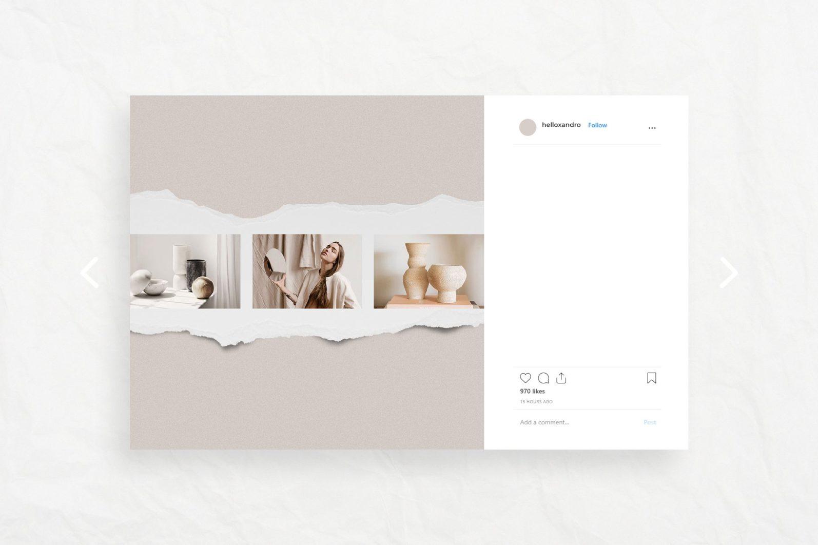 Señorita - Instagram Stories & Post - noir3 -