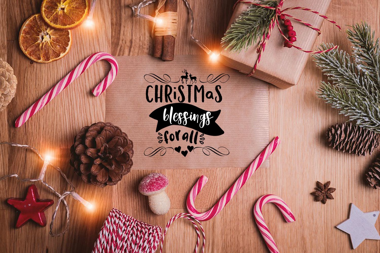 Christmas SVG Bundle- Holiday SVG Bundle- Set of 22 Files - BUNDLE 223COVER -