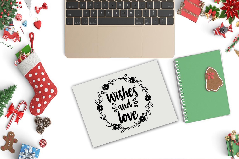 Christmas SVG Bundle- Holiday SVG Bundle- Set of 22 Files - BUNDLE 233COVER -