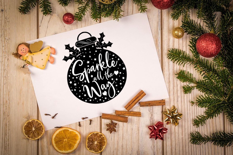 Christmas SVG Bundle- Holiday SVG Bundle- Set of 22 Files - BUNDLE 2353COVER -
