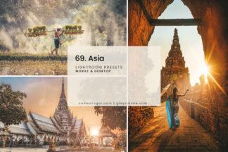 White Lightroom Presets - 69.Asia Presets 1 -