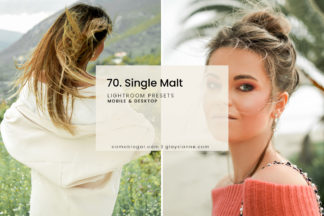 White Lightroom Presets - 70.Single Malt 01 -