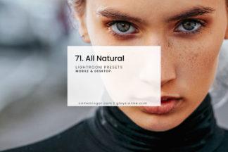 White Lightroom Presets - 71.All Natural 01 -