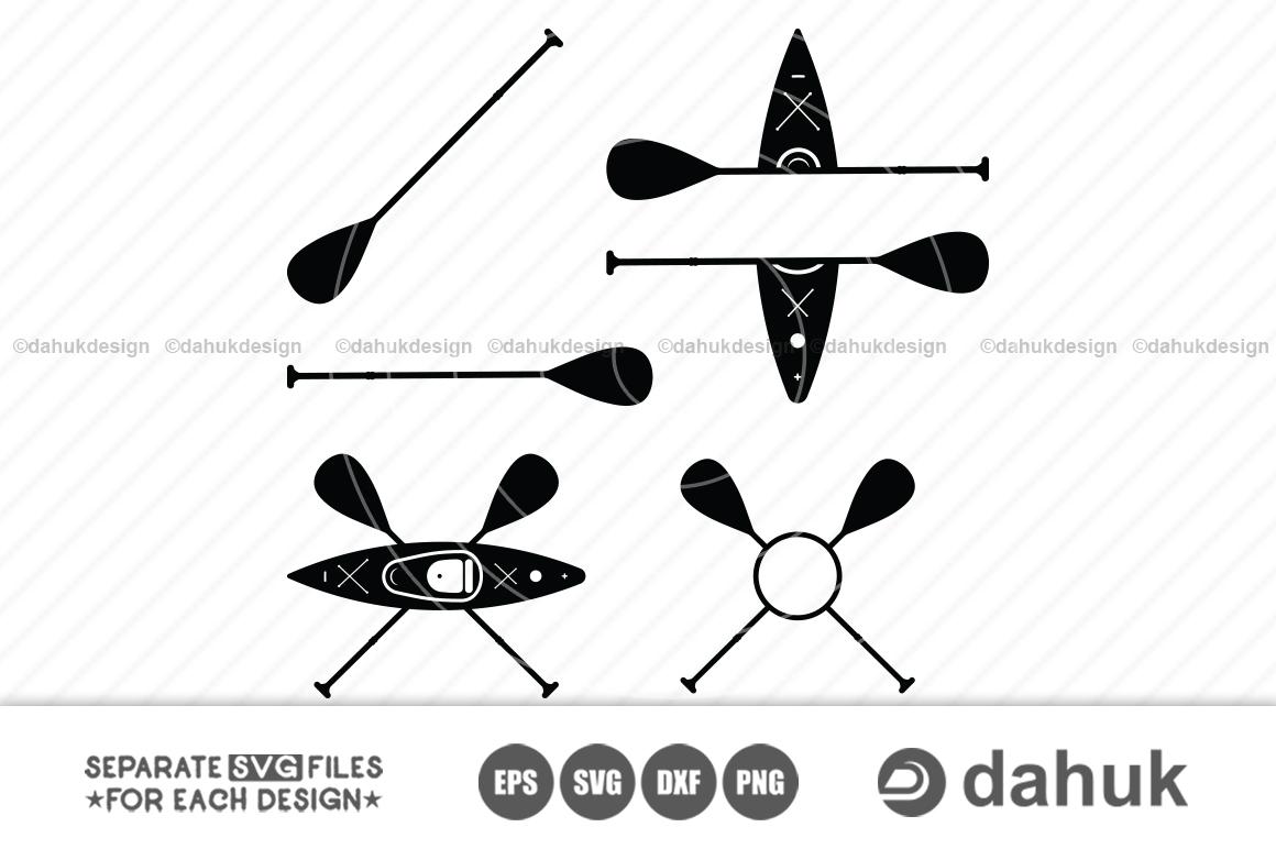 Download Kayak Svg Kayak Paddle Monogram Svg Kayaker Svg Svg Eps Dxf Files Crella