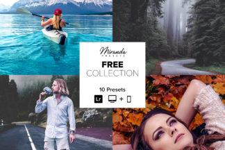 Free Lightroom Presets - Banner Free -