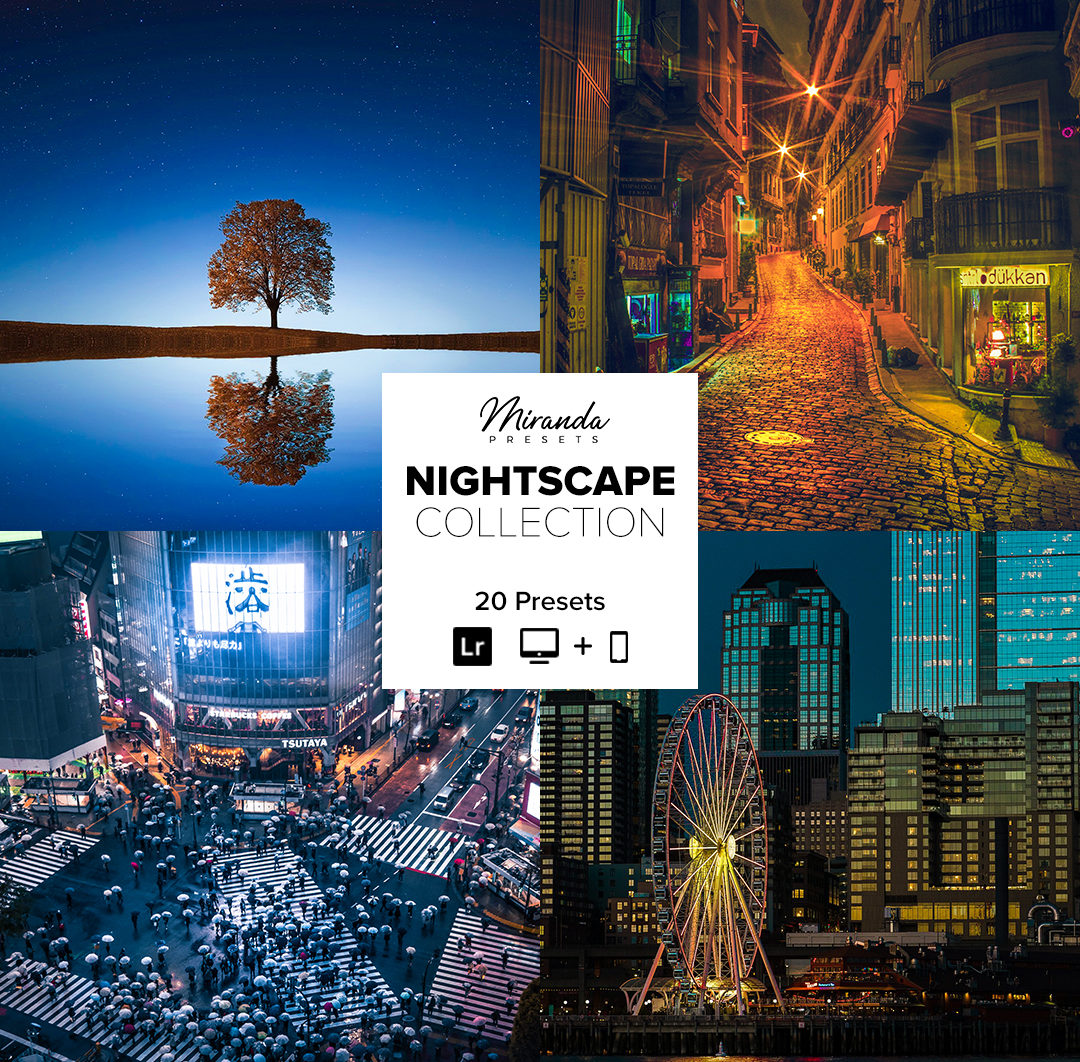 Nightscape Collection - Banner Nightscape -