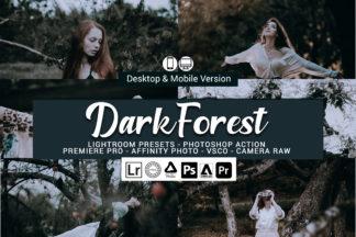 Forest Lightroom Presets - Dark Forest -